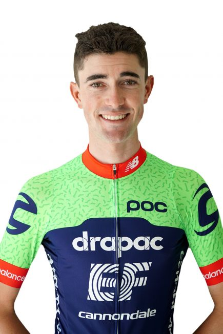 The Drapac EF p b Cannondale Holistic Development team are proud to  announce that James Whelan will be joining the team roster for the 2018  season. 409702566